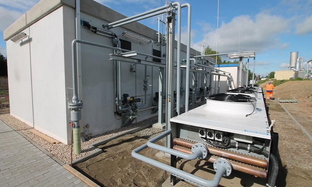 Bioerdgas-Anlage