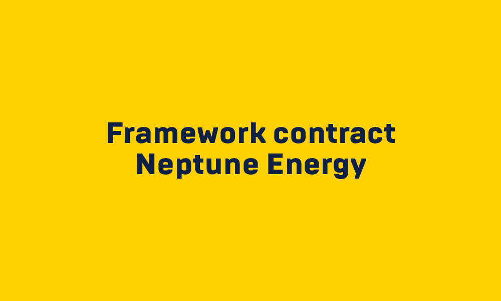 Project Framework conract Neptune Energy